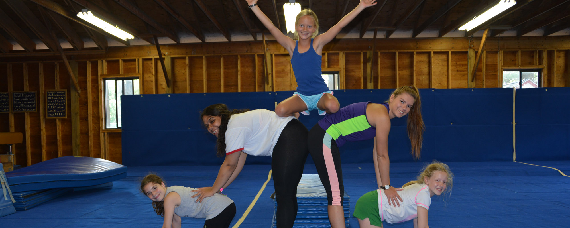 Lake Greeley Camp - Gymnastics Activity at Summer Camp